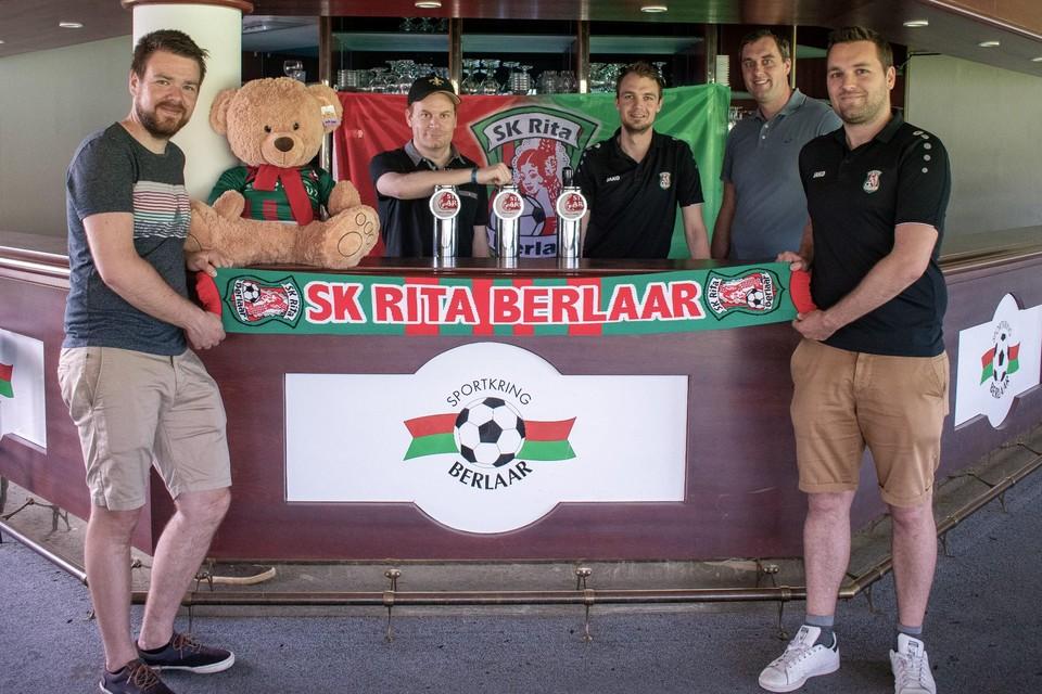 Dries Milbou, Ken Voet, Roel Peeters, Olivier Vets en Glen Van Loock willen een nieuwe wind door de club laten waaien.