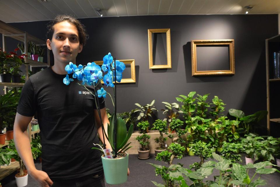 Ramin Hassani heeft groene vingers, en nu ook een eigen bloemen- en plantenzaak.