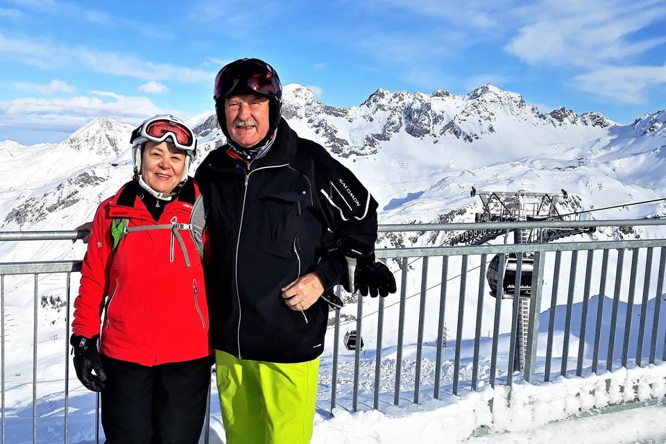 Hannes Schopf en zijn vrouw Sieglinde in betere tijden