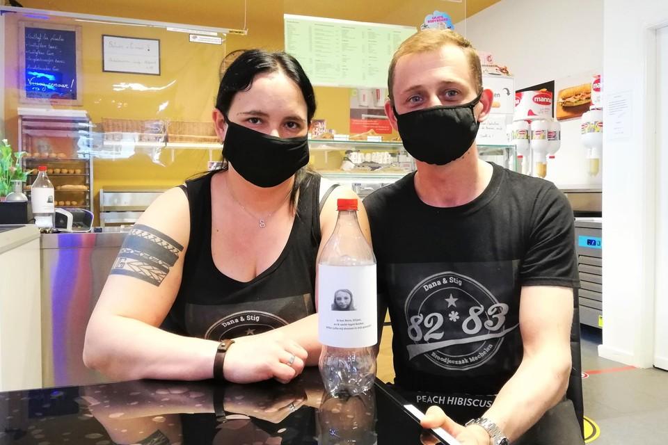 Dana Seghers en Stig Van Huffelen zamelen geld in voor hun nichtje Xena, die aan kanker lijdt.