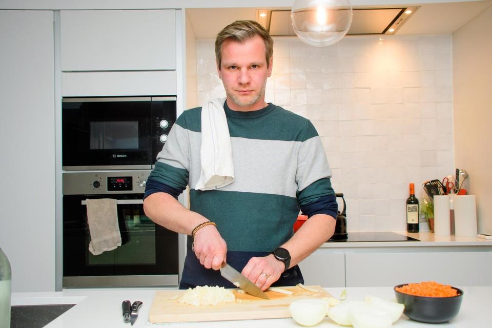 Ben Dehaes kookt alledaags, maar verrassend lekker.