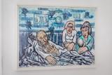 thumbnail: Fred met vrouw, dochter en kleinzoon.