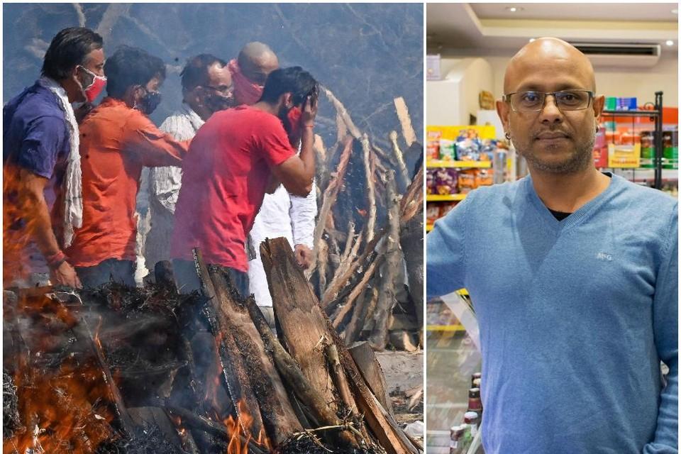 Peter heeft een winkel in Heist maar is afkomstig uit West-Bengal.
