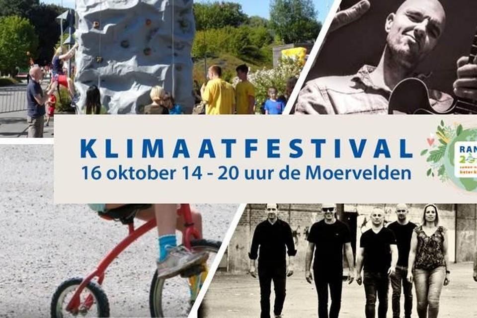 Het eerste klimaatfestival van Ranst, met optredens van tal van lokale artiesten.