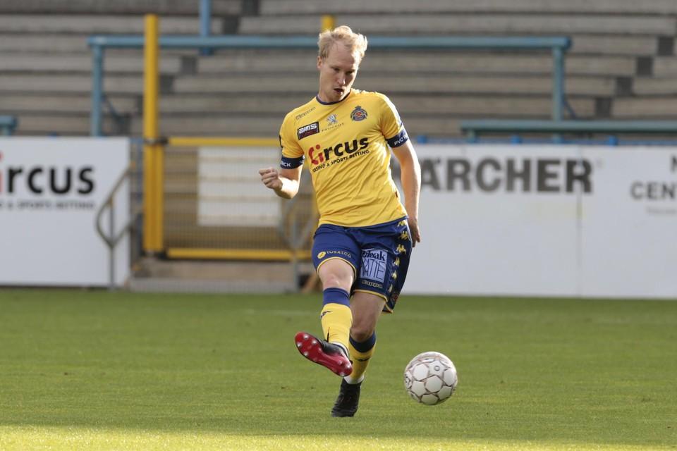 Valtteri Moren in zijn Waasland-Beveren-periode.