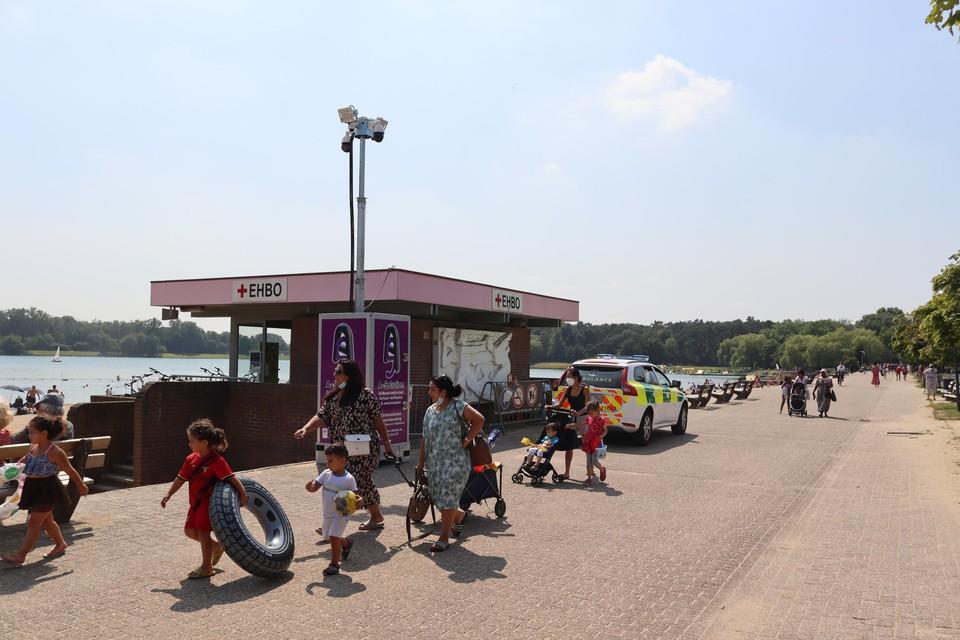 De hulpdiensten moesten ter plaatse komen in De Ster.