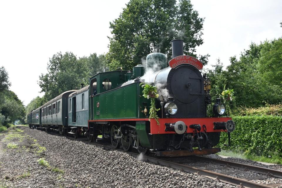 Voor het eerst in vier jaar tijd rijdt de trein weer tussen Puurs en Dendermonde