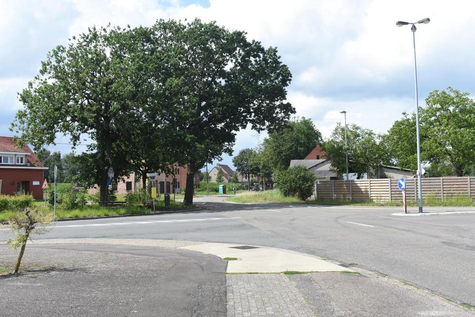 Het kruispuntencomplex De Rooy - Sint-Appolonialaan - Bruggeske wordt ook eenvoudiger na de heraanleg.