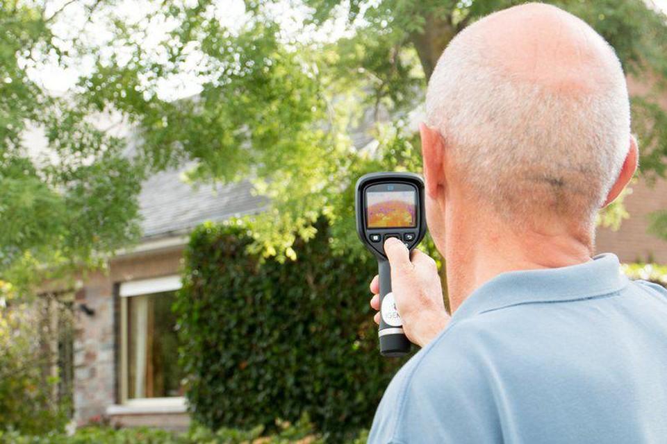 Een thermoscan toont meteen aan waar je woning warmte verliest.