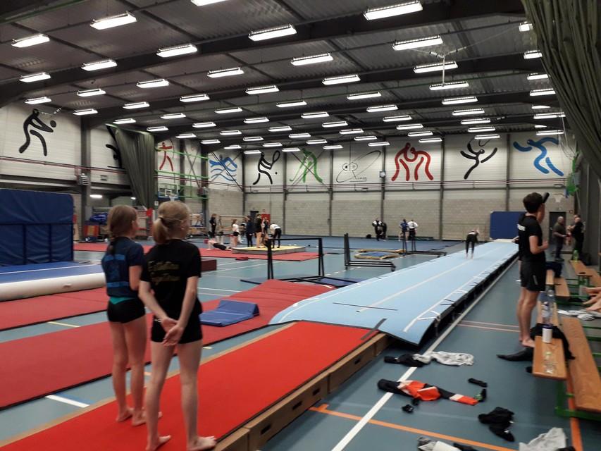 Esthetica Gymteam baat als vereniging de cafetaria in sporthal De Ring uit en liep door de lockdown heel wat inkomsten mis.