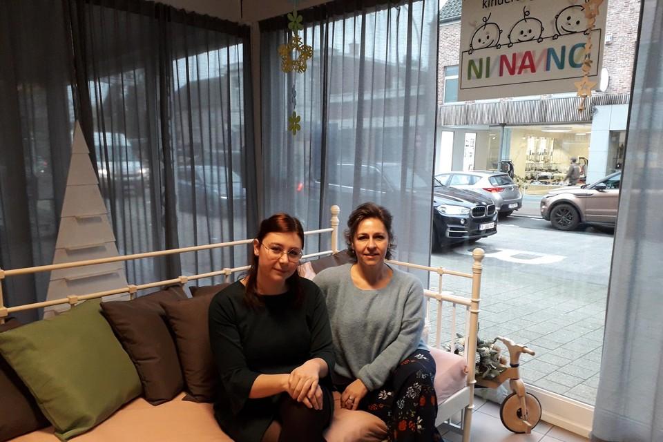 Precies een jaar geleden, op 20 januari 2020, openden Tanja Franck en Lynn De Baere, moeder en dochter uit Schoten, kinderopvang Ninano in Sint-Job.