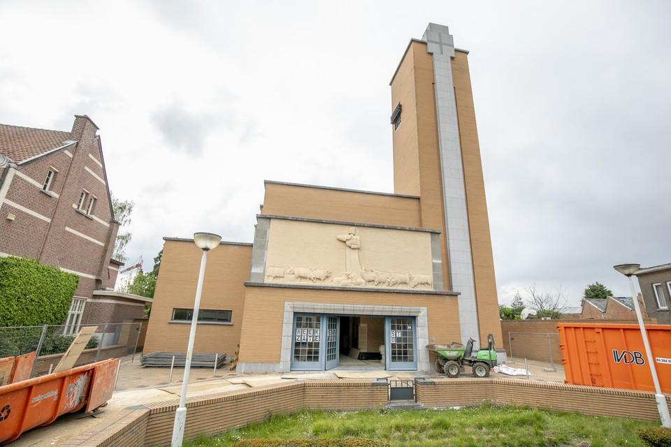 Het interieur van de Heilig-Hartkerk wordt sinds maart 2021 grondig gerestaureerd. Het einde van de werken is gepland voor het voorjaar van 2022.