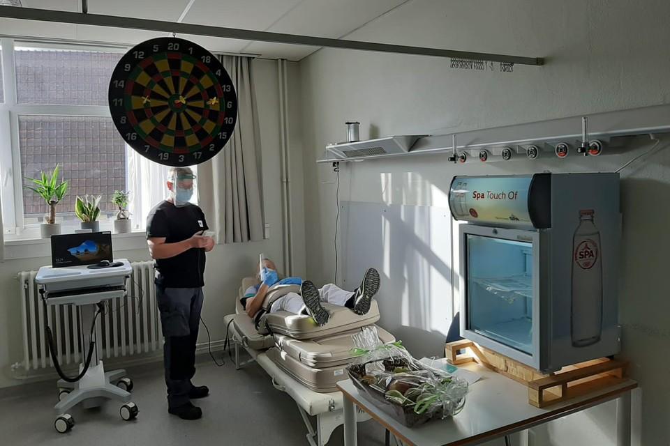 De relaxruimte voor zorgmedewerkers van het H. Hartziekenhuis is een van de gesteunde projecten.