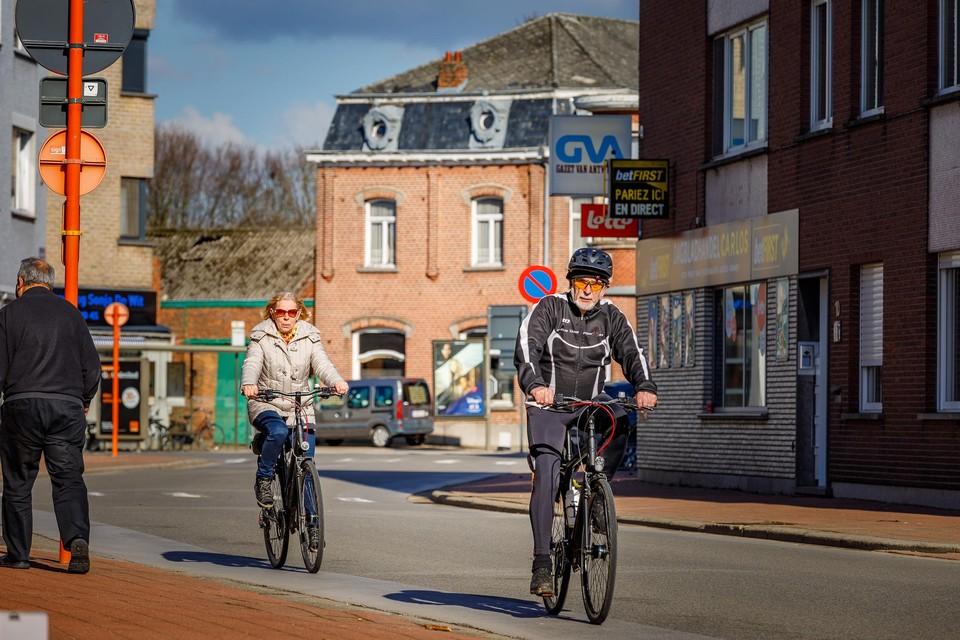 Een fietsstraat tussen de Mechelseweg en de Frans Reyniersstraat is voor het stadsbestuur geen optie.