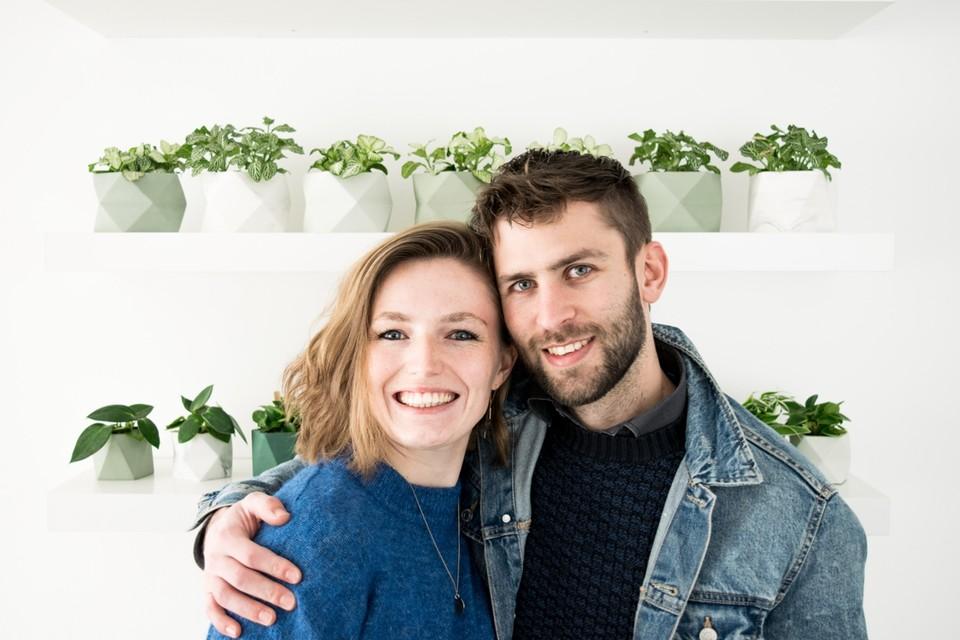 Anneleen Durnez en Nathan Noëth hopen midden mei in de Mechelse binnenstad hun eerste designwinkel te openen.