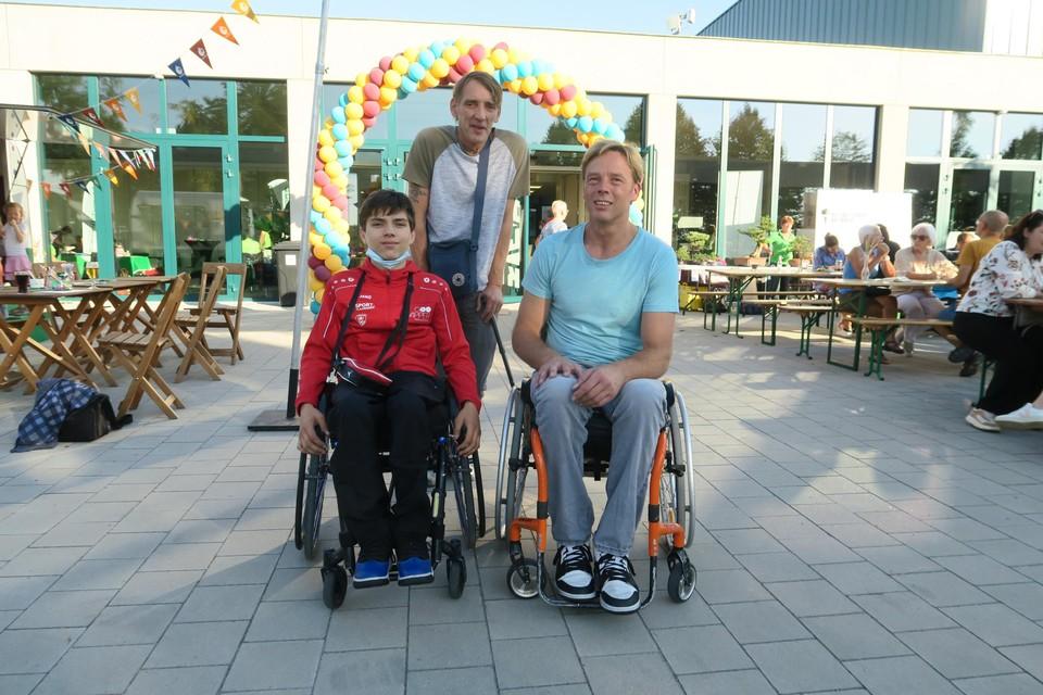 De mannen van rolstoelbasketclub Wapper.