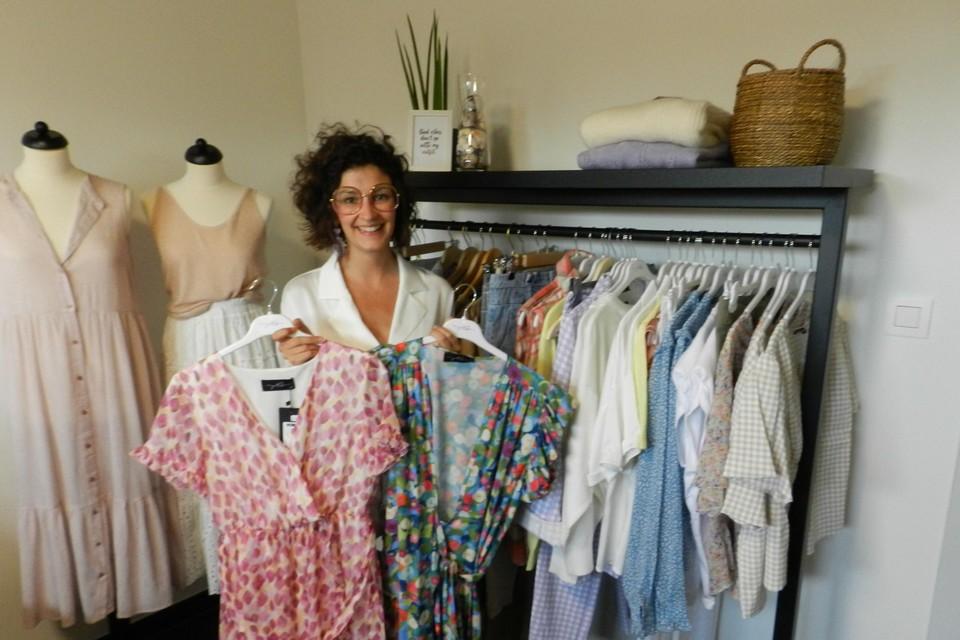 Hanne Jacobs steunt met haar online winkel het Rode Kruis.