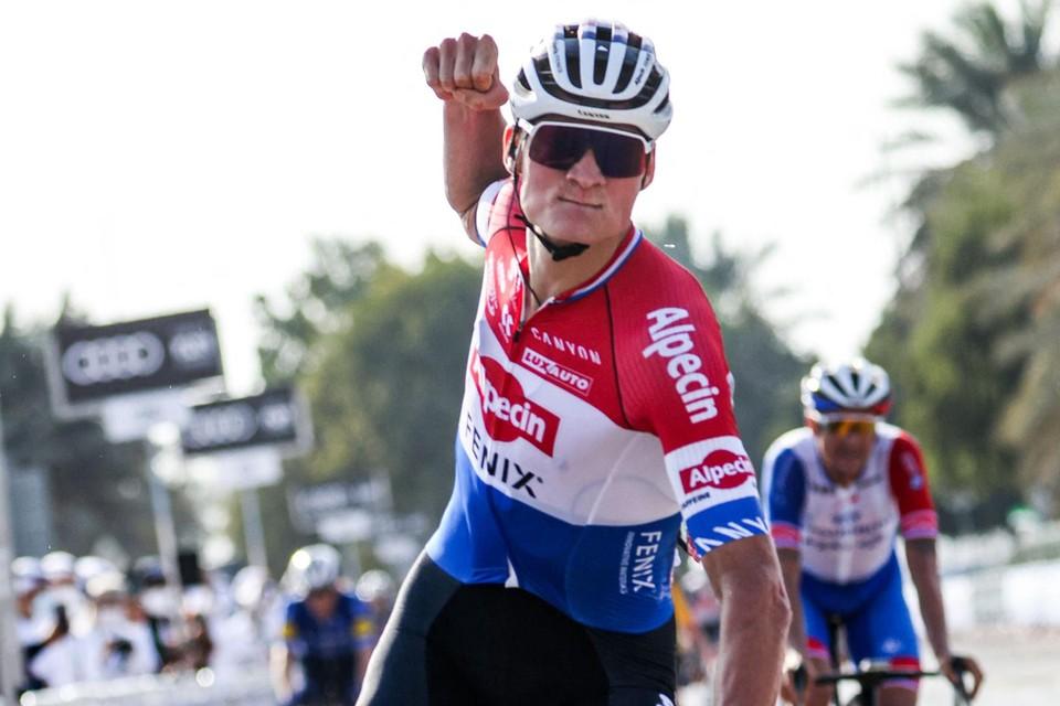 Van der Poel won vorig weekend in de UAE Tour.