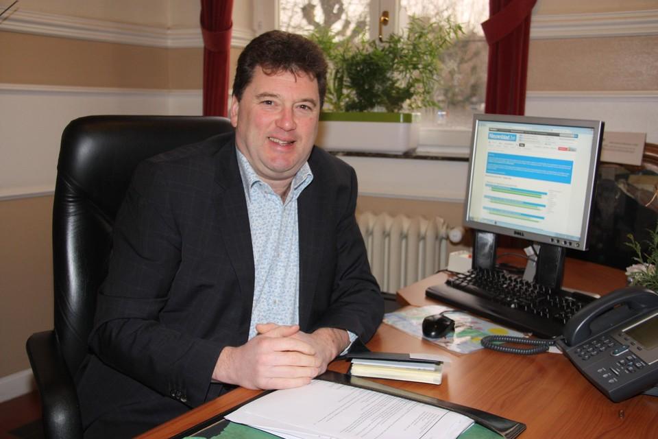 Burgemeester van Lokeren Filip Anthuenis.