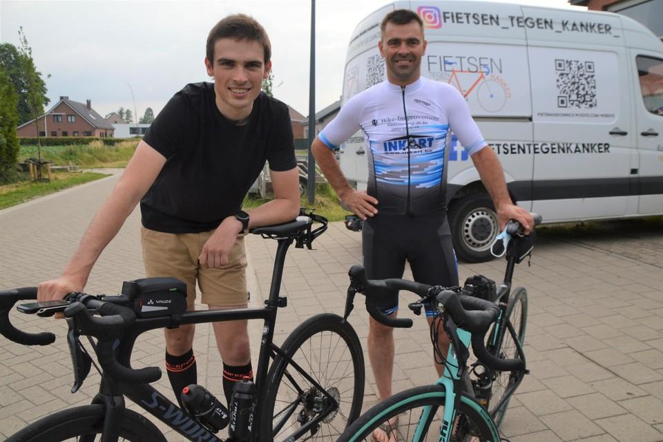 Kanjers tegen kanker: Pieter en zijn pa Bart De Koninck hebben véél goede redenen om te fietsen tegen kanker.