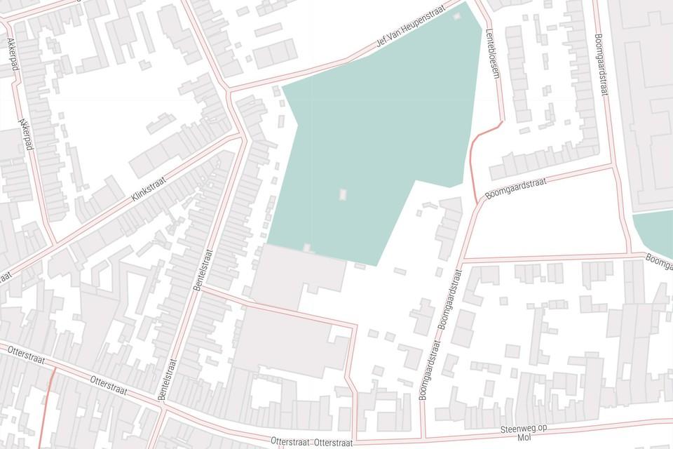 Een deel van het groene binnengebied tussen de Jef Van Heupenstraat en de Otterstraat is verkocht aan een bouwpromotor.