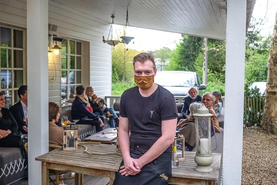 Eigenaar David Leysen van Brasserie Leysen.