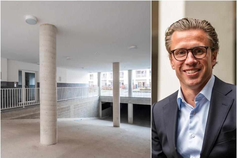 Sven Potvin, algemeen directeur van Antonissen Development Group.