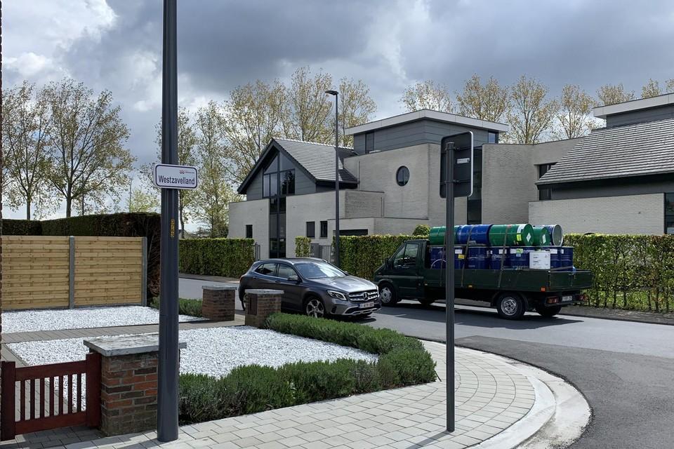Westzavelland krijgt weldra minder vrachtwagens dankzij doorsteek aan bedrijfsterrein.