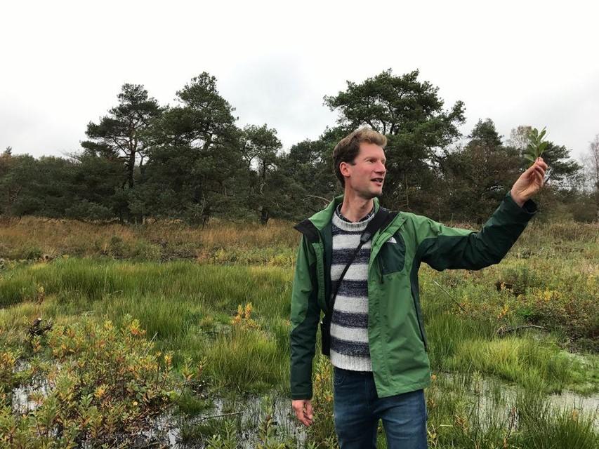Bas Van Der Veken, coördinator van de vzw Regionaal Landschap Kleine en Grote Nete, legt het uit in de Netevallei.