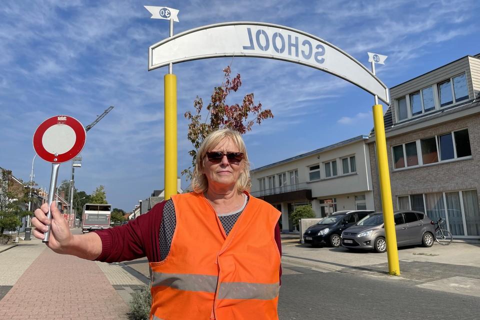 Sonja Hendrickx is al meer dan twintig jaar gemachtigd opzichter. Meestal vind je haar terug op de Heiststeenweg in Beerzel.