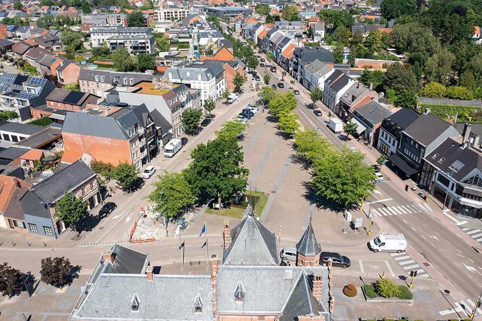 De heraanleg van de dorpskern van Oud-Turnhout is een eerste project waarbij de inwoners gebruik kunnen maken van het nieuwe online platform.