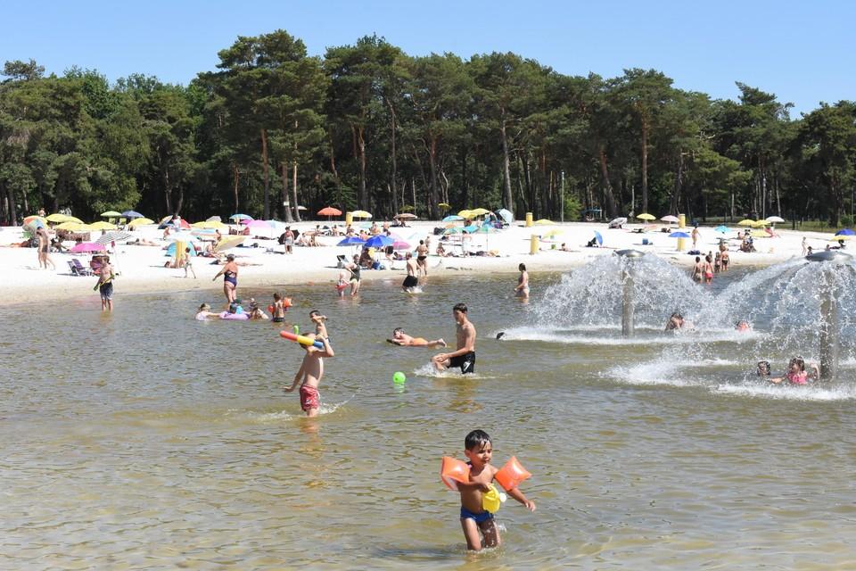 Het Zilvermeer telde in juli 28.000 dagbezoekers.