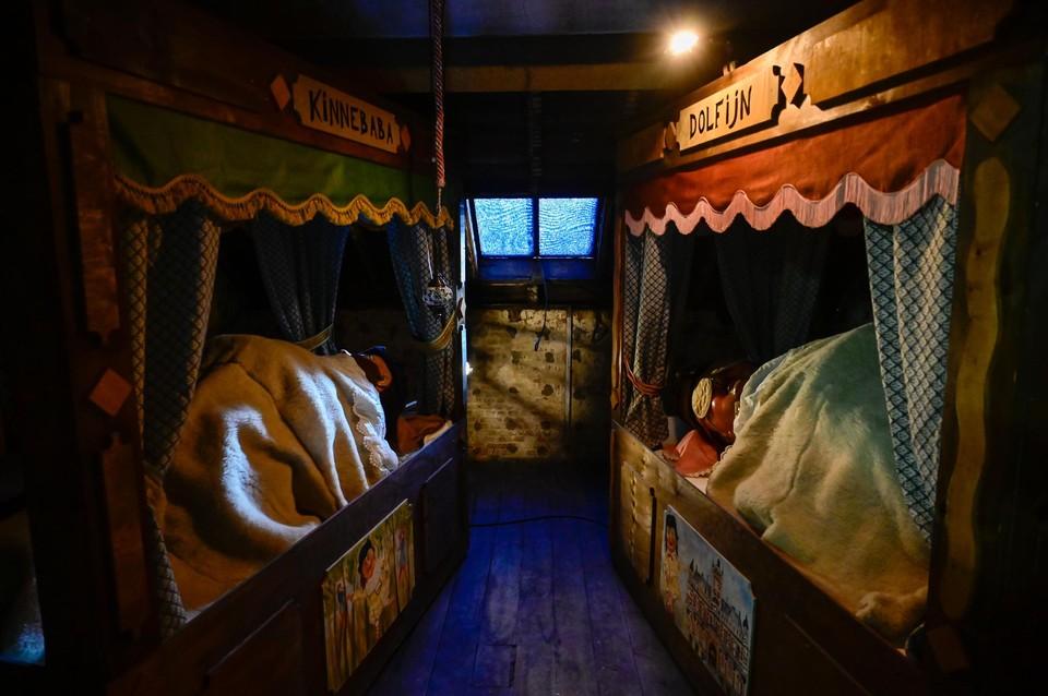 De Reuskens slapen op de zolder van de Borgerhub.