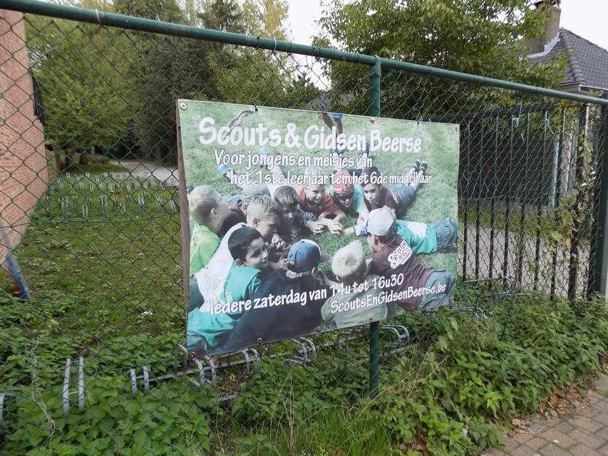 Ook een betere toegangsweg naar de lokalen van de scouts en gidsen Beerse is een onderdeel van de nieuwe plannen.
