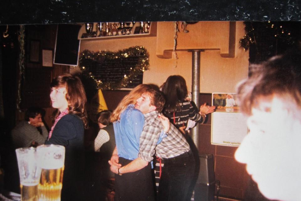 De cafécultuur in Het Anker in de jaren tachtig.