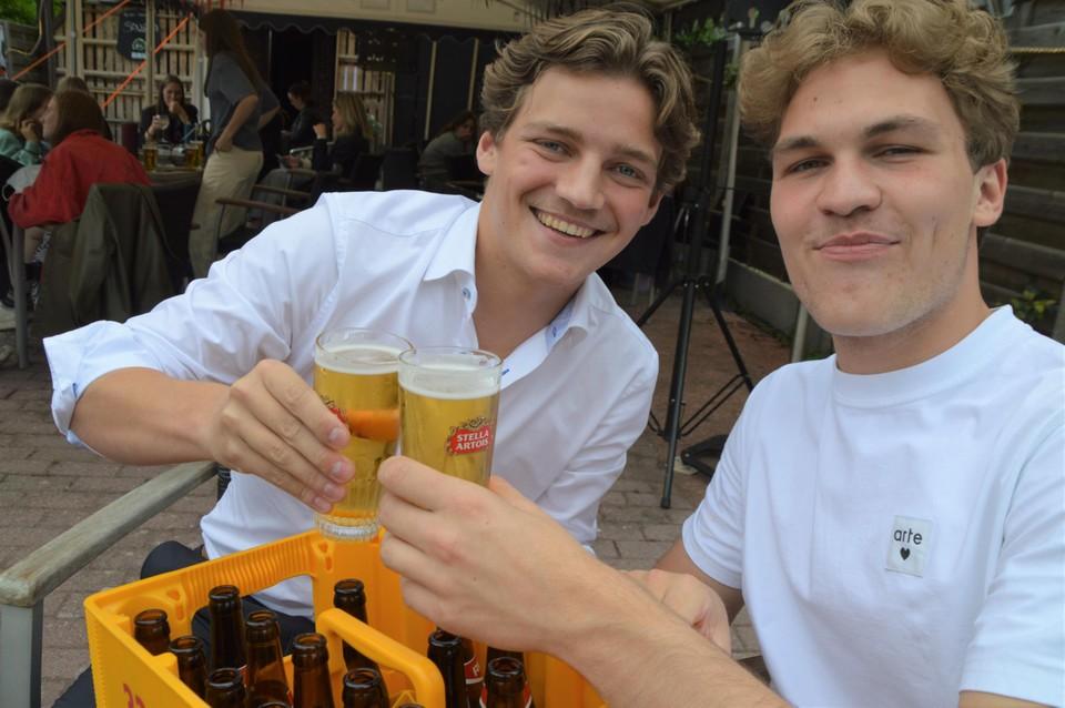 Michiel en Thomas uit Zoersel.