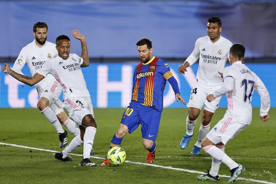 Barcelona en Real Madrid moeten sancties vrezen.