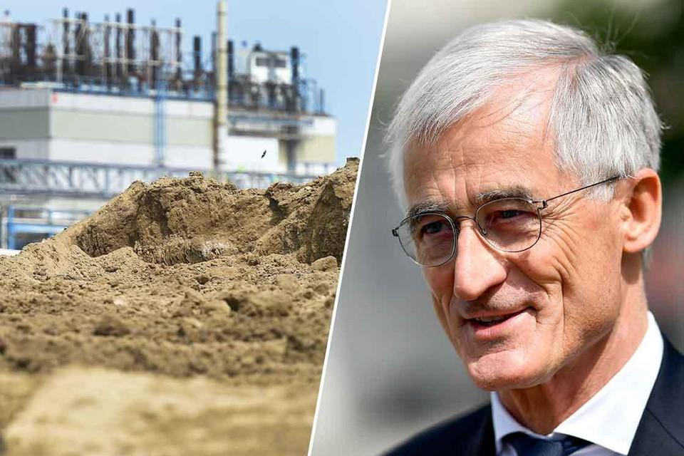 De risico's van PFOS-vervuiling waren in september 2017 al bekend bij de Vlaamse regering van toenmalig minister-president Geert Bourgeois (rechts).