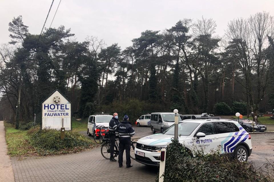 De politie sloot chaletpark Fauwater in Kasterlee eerder deze week nog af maar die algemene lockdown is nu voorbij.