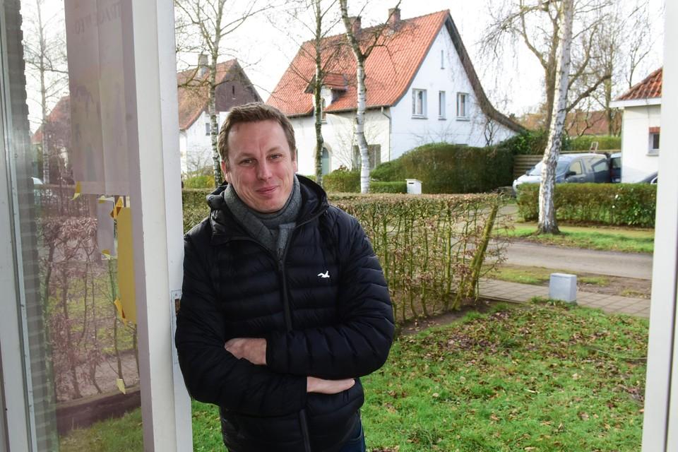 """Koen Snoeckx: """"Een ideaal compromis tussen een fatsoenlijke tuin en wonen in de stad. Dat is voor mij ook de grote aantrekkingskracht van de Molekens."""""""