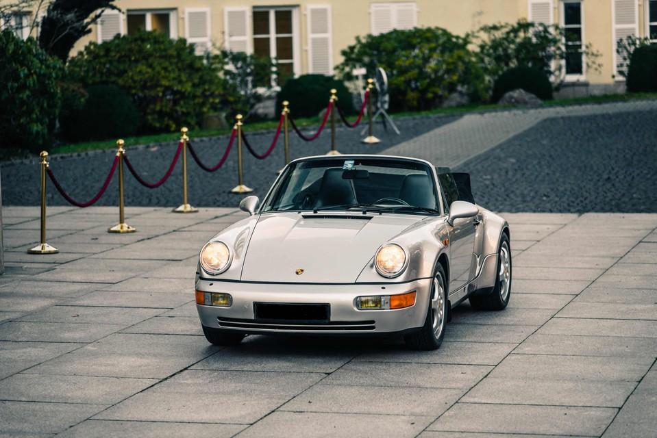 De Porsche van Maradona.