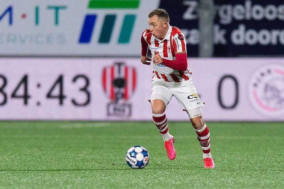 Olivier Rommens toen hij vorig seizoen voor TOP Oss speelde.