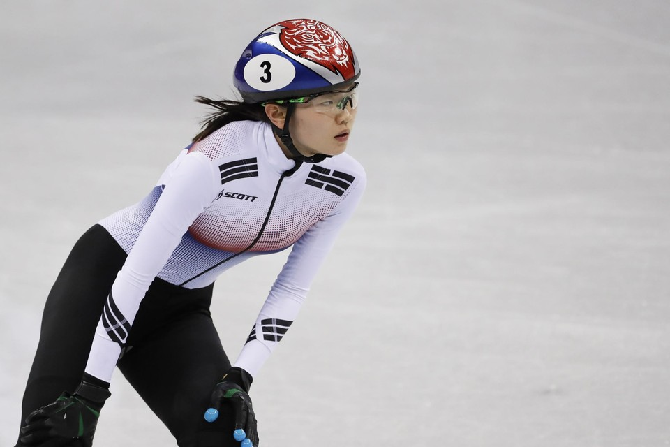 Shim Suk-hee schreeuwt haar onschuld uit, maar uitgelekte sms'jes zouden aantonen dat ze de finale van de 1.000 meter shorttrack op de Spelen gemanipuleerd zou hebben.