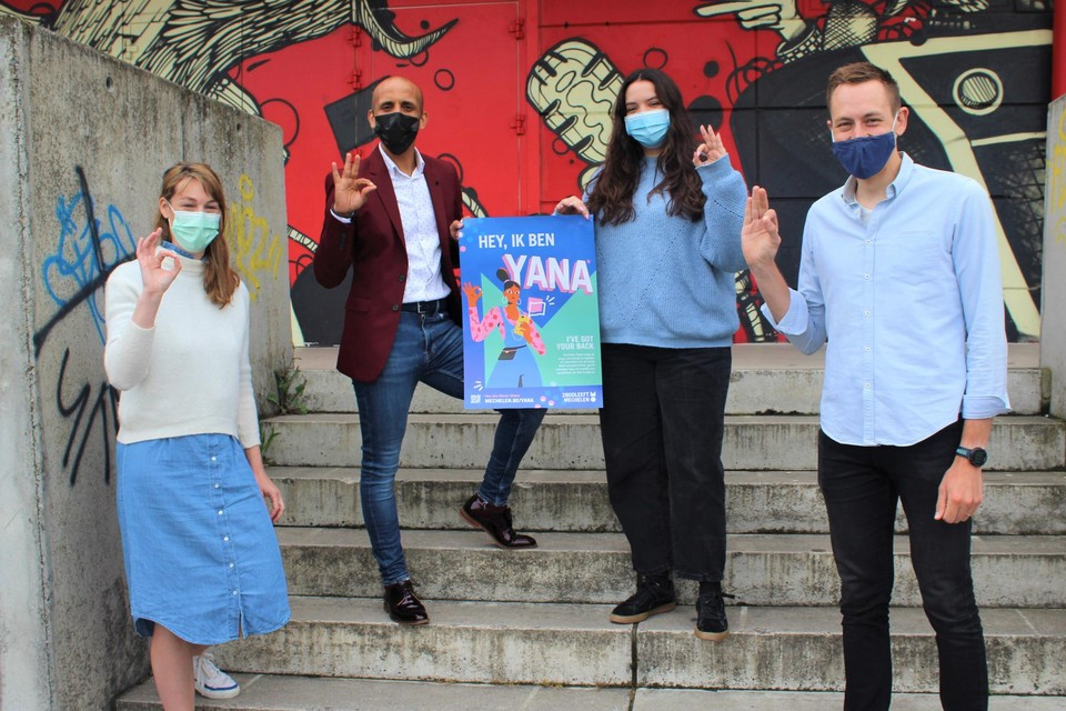 Chatbot YANA helpt jongeren om veilig en onbezorgd op stap te gaan.