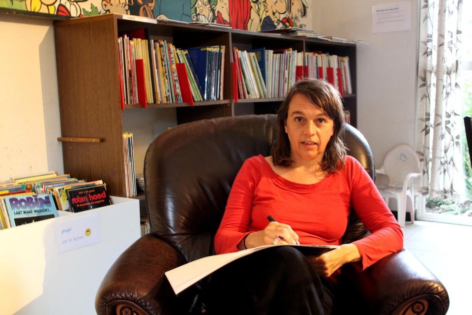 Nathalie Carpentier, hier in de StripARK, leerde de voorbije maanden de Parkwijk kennen.