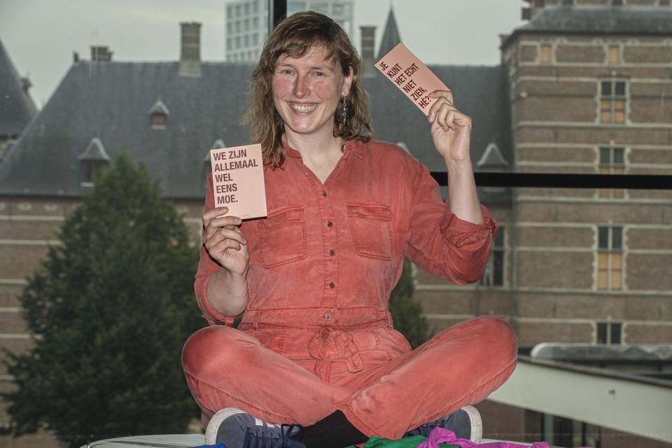 Ilse Oostvogels maakt een theatervoorstelling rond MS. 'Zenuwslopend' gaat op zaterdag 18 september in première in de Warande.