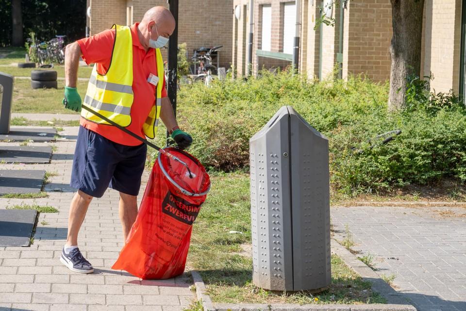 Lode Weckx is een van de straatvrijwilligers