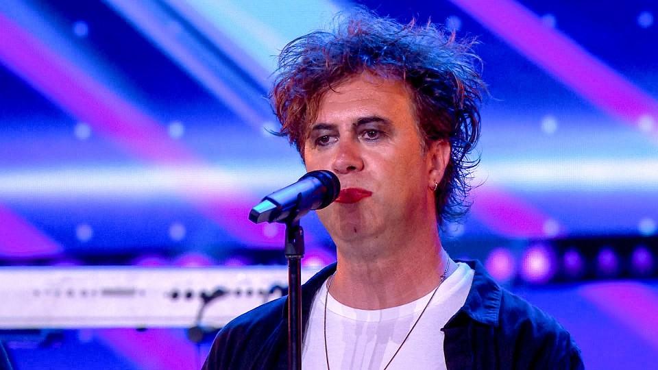 Dirk Vreys, de vader van Jarne, is de zanger van obsCure.