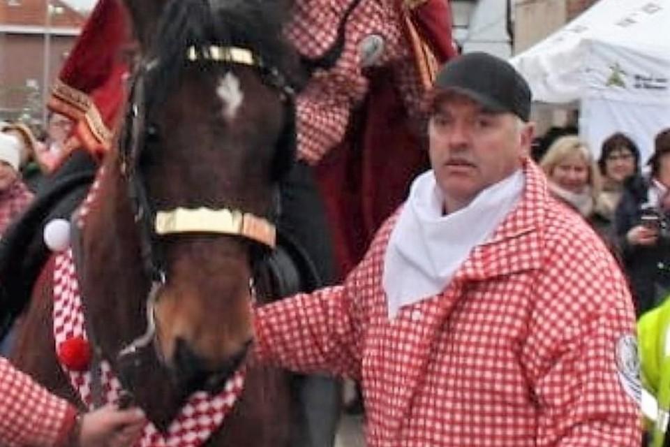 Erik De Vree was in 1991 en 1992 koning bij de Jonge Ruiters Zandvliet.