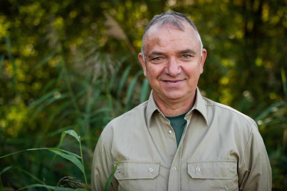 Bert Veris, curator in natuurreservaat De Zegge in Geel.